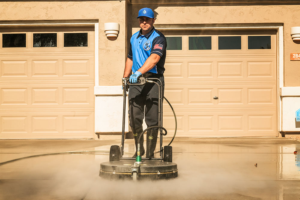 West Valley City-driveway-cleaning